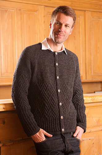 Un gilet manches courtes facile à tricoter - La Malle aux