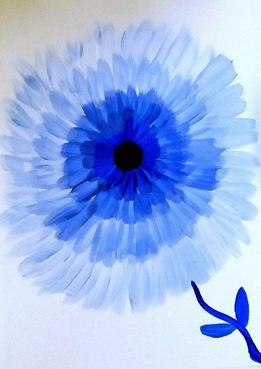fleurs en camaieu le tour de mes couleurs