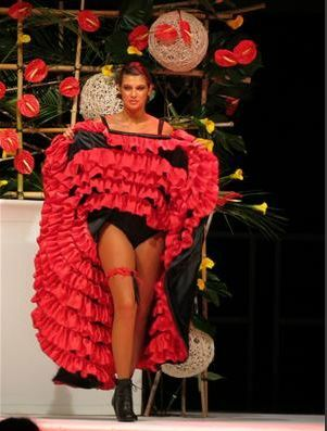 Jupe French Cancan de Miss Bourgogne  LAETI COUTUREMEI TA mei taiporte bb chinois cape
