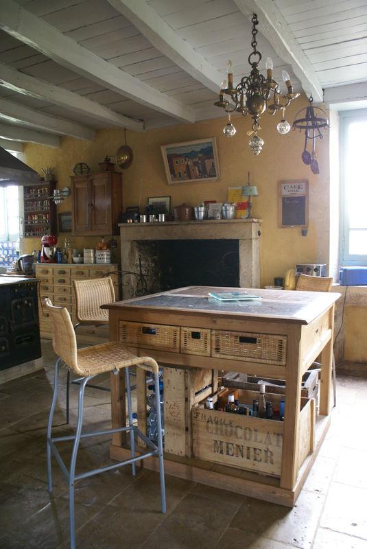 La cuisine aprs les travaux  Photo de Finitions et dco  une maison bourgeoise  Crations et