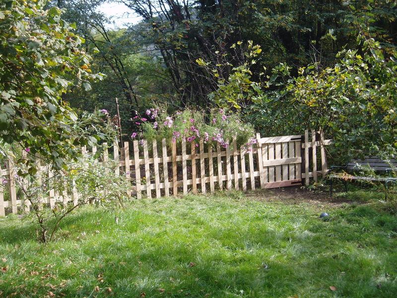 Barriere De Jardin 4 barri res de jardin modulables blanches deco jardin cloture barriere d