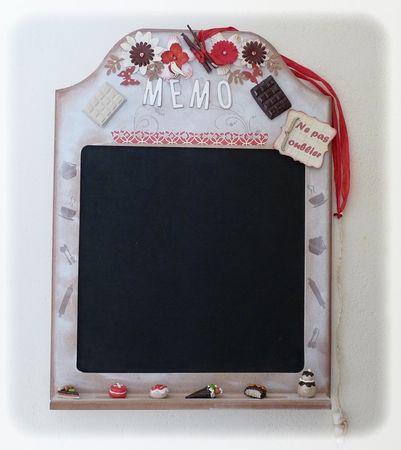 Tableau memo ardoise finest mbdt tableau mmo magntique en for Tableau memo cuisine