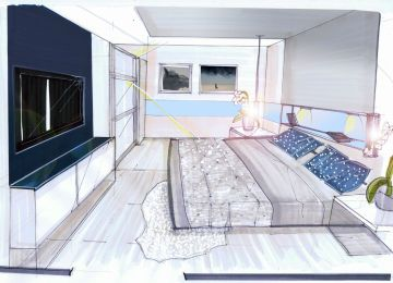 Perspective Chambre | Interieur Maison En Perspective