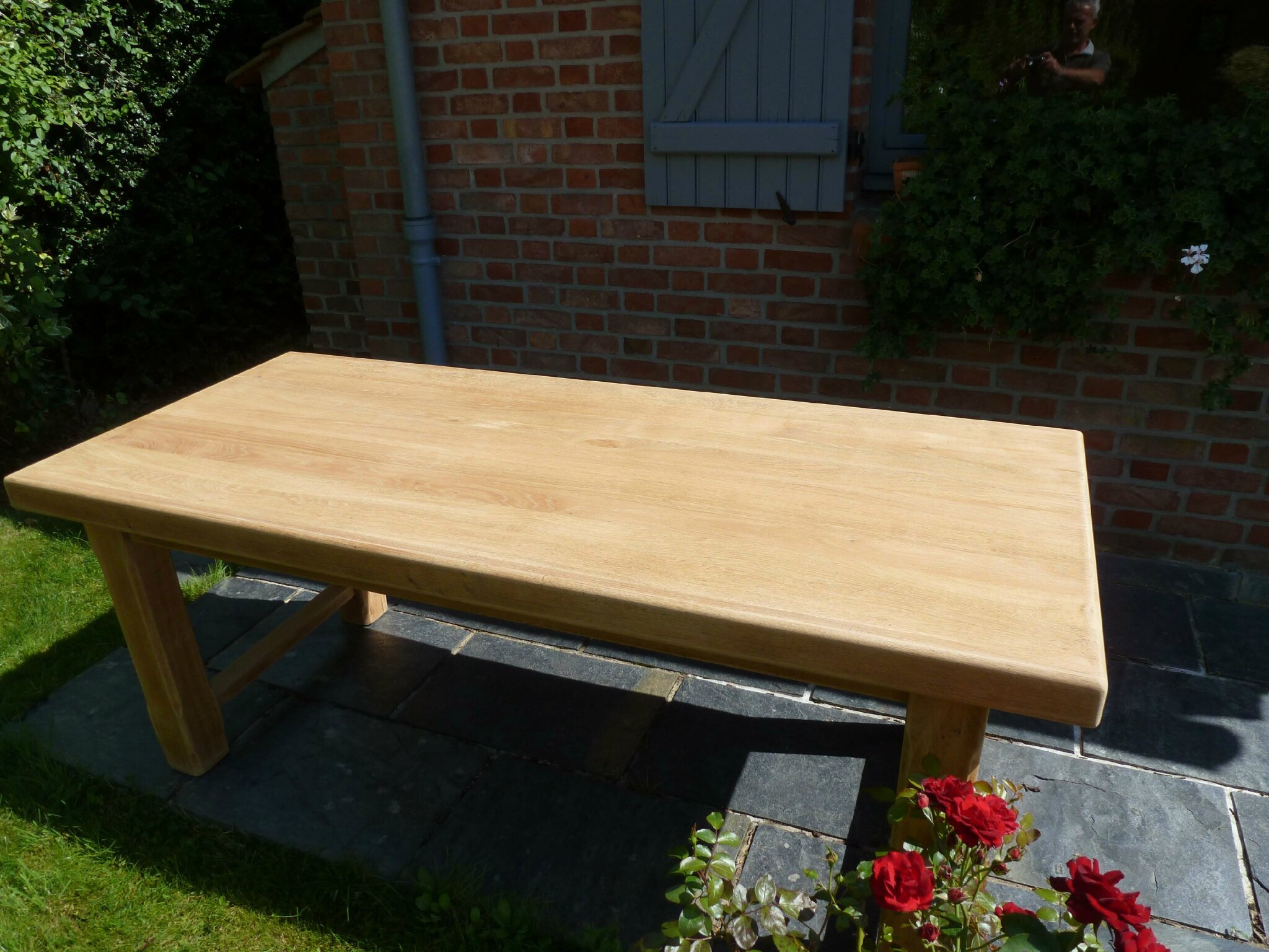 Eclaircir Une Table En Chne Patines Amp Couleurs