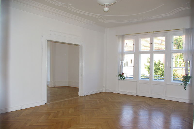 le salon vide  appartement Berlin
