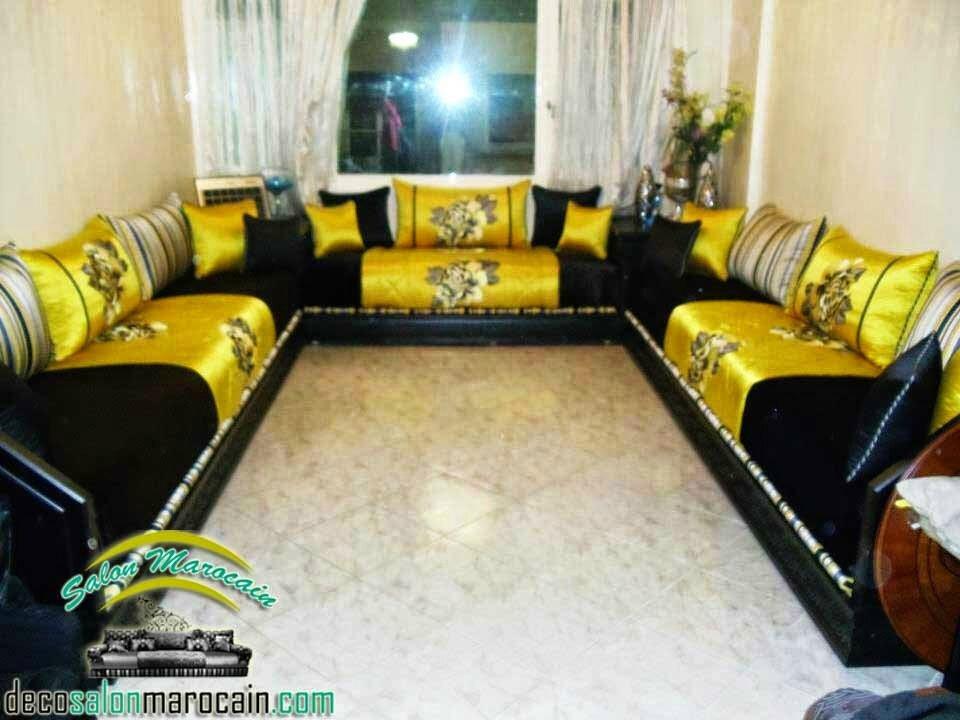Dcor luxueuse salon marocain  Salon marocain moderne
