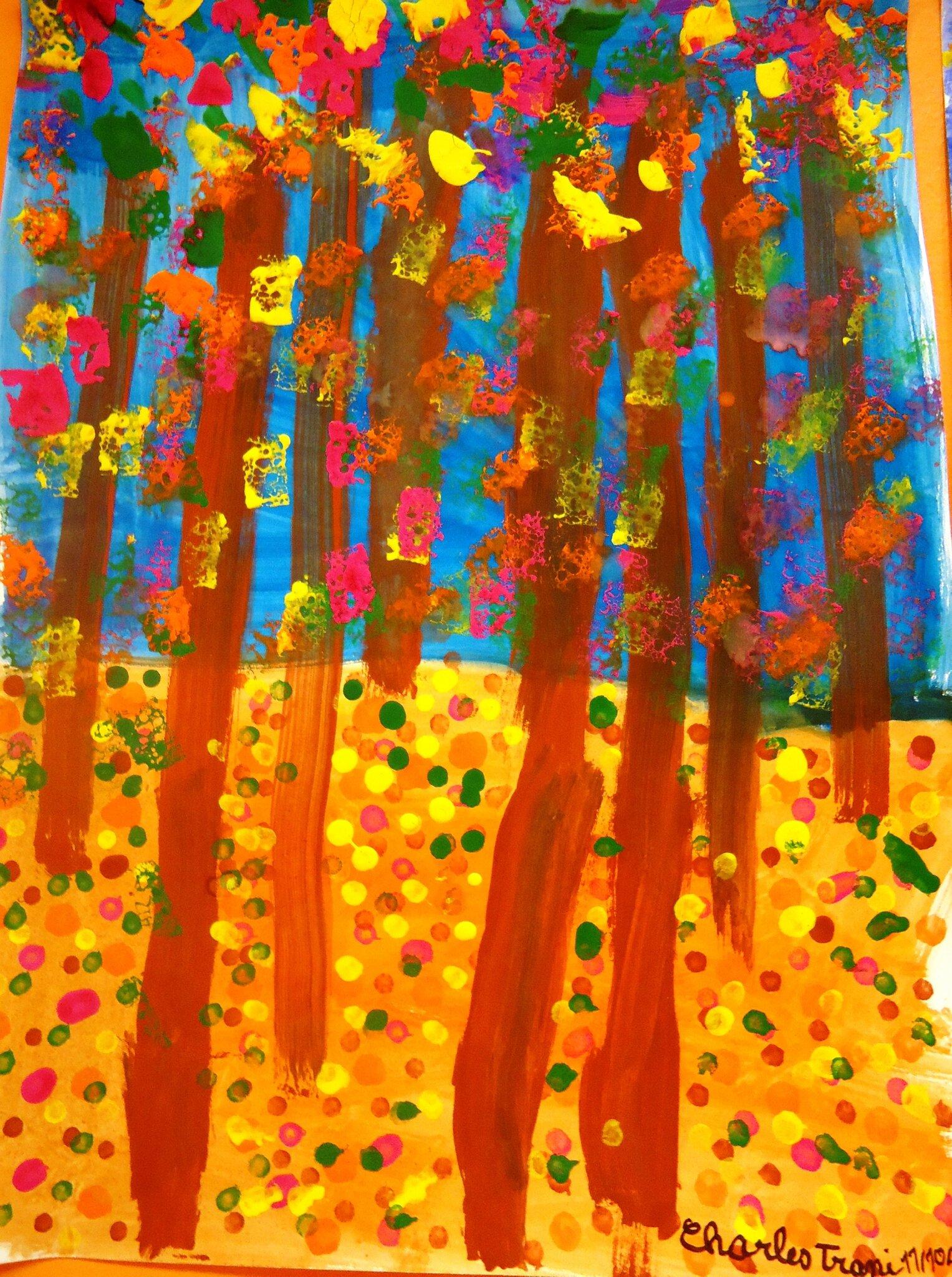 arbres dautomne des ce2  Album photos  le blog des ce