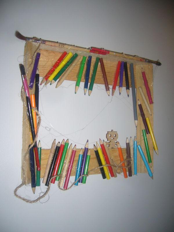 LIBIS RECUP CADRE CRAYONS  Album photos  libis rcup objectif le remploi du textile et