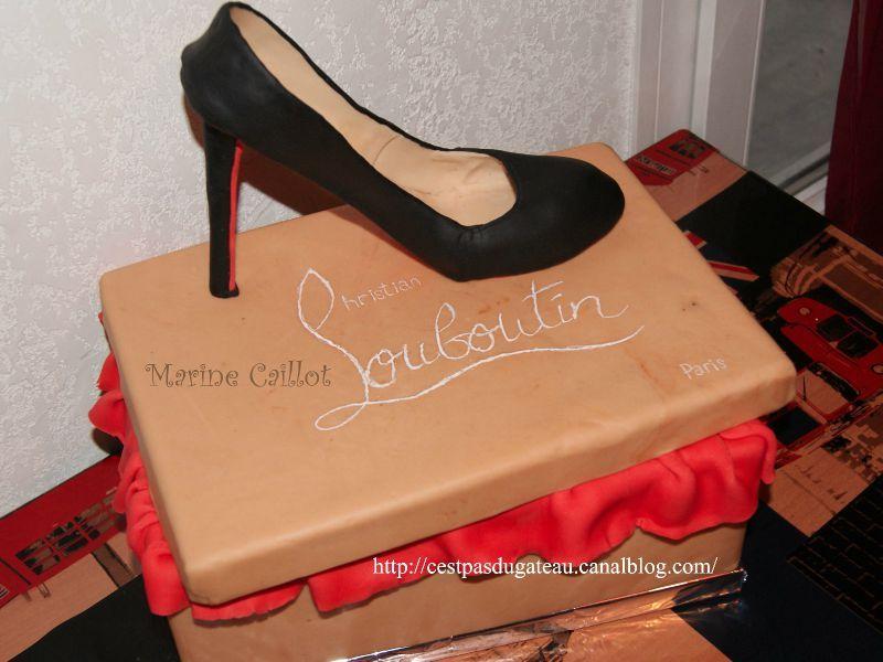 boite de rangement chaussure louboutin
