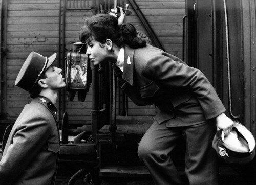 Resultado de imagen de ostre sledované vlaky (1966)
