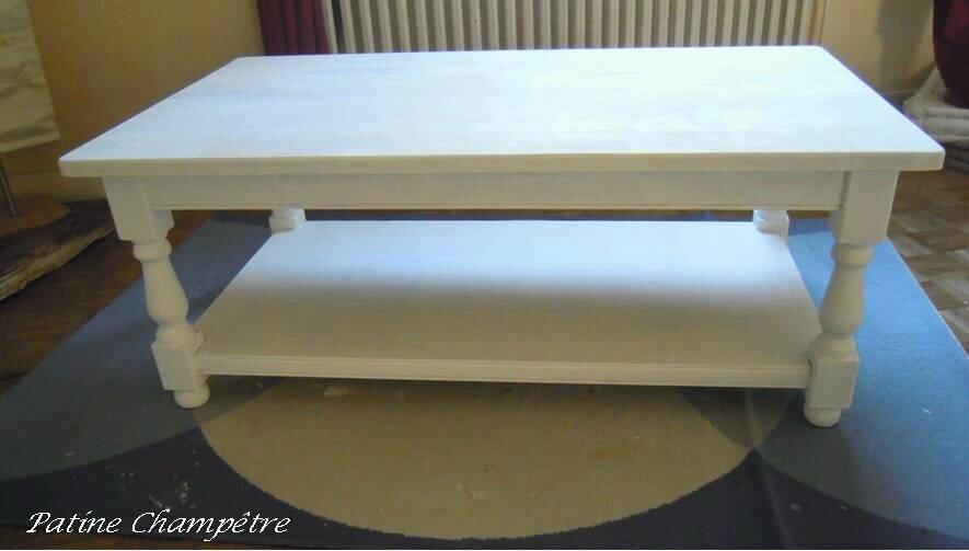 Peindre Une Table Basse  Atelier Retouche Paris