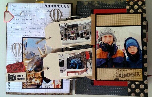 Road Book  Le scrap de Marianne38