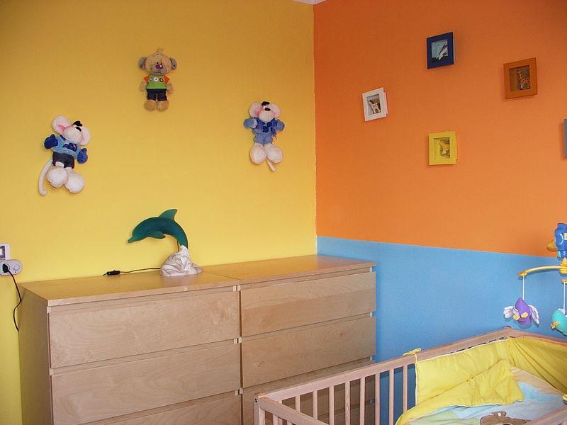 Chambre Fille Orange Et Vert - Décoration de maison idées de design ...