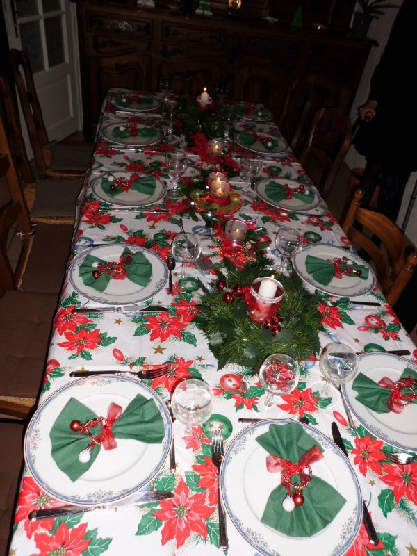 Dco Table De Noel Les Bricos De Sylvie