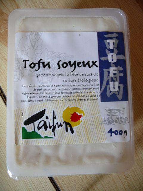 Qu Est Ce Que Le Tofu Soyeux : soyeux, Mousse, Chocolat, Soyeux, Sorbet, Menthe, Lucie, Cuisine
