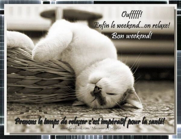 Bon weekend  Valmyvoyou lit