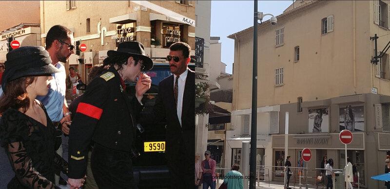 Moment Captured Michael Jackson et Robert Woodard le coiffeur de Wynnefield  On Michael