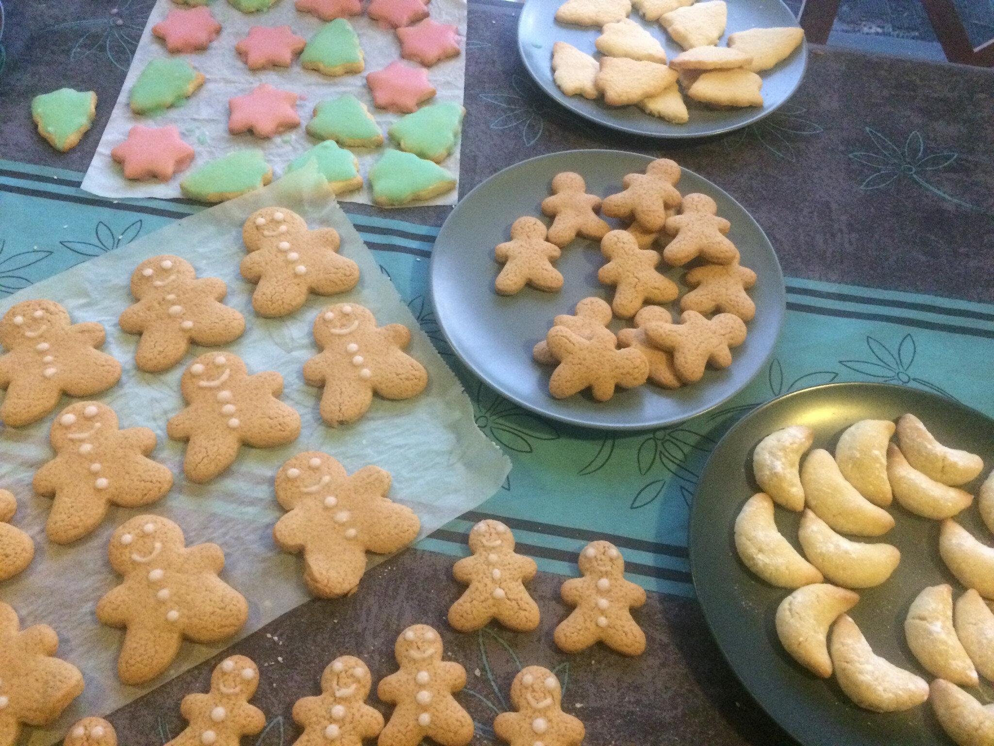 biscuits de noel au thermomix ou sans