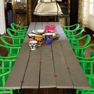 Se fabriquer une table de jardin   Le blog de Pozzynette