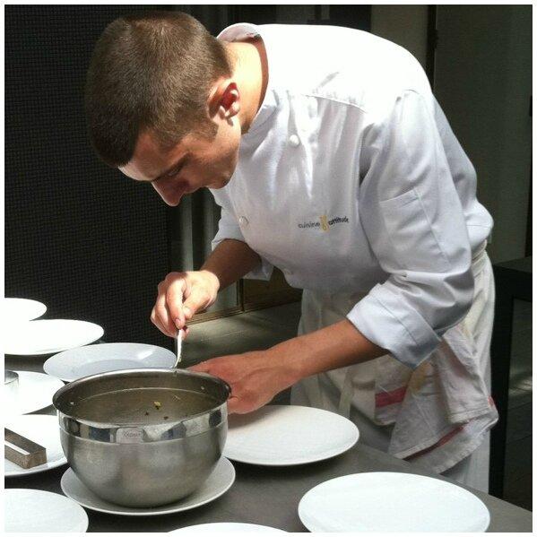 offrir un cours de cuisine avec cyril lignac