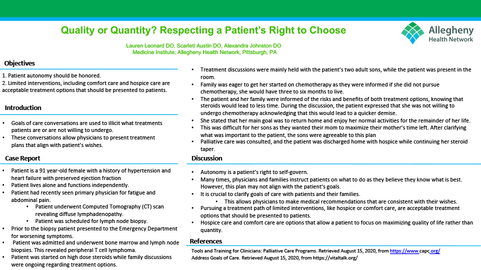 Lauren Leonard - PAW-11-Quality-or-Quantity-Respecting-a-Patient's-Right-to-Choose