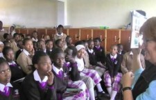 Betty Kiddell and the PA-MOJA team visit Loise Nanyuki Girls School