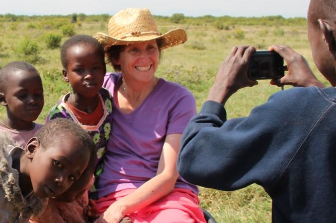 Dr. Gillian Laprairie in Kenya in July, 2013.