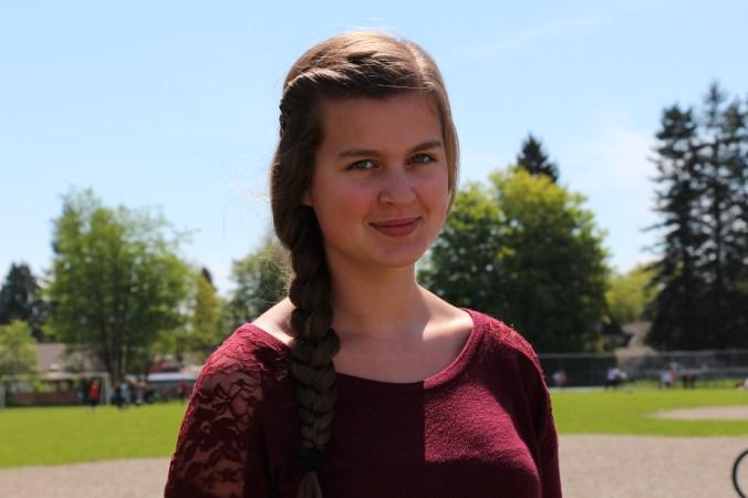 Josie Schmidt, Grade 8