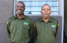 William  Okoth and Wilson Muriithi - Patrol Supervisors