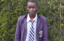 Boniface Githaiga is one of the  6 students going to university