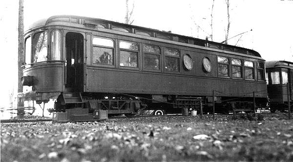 Fans visited Toledo at the lakeside village on a Lakeshore interurban excursion in 1937.