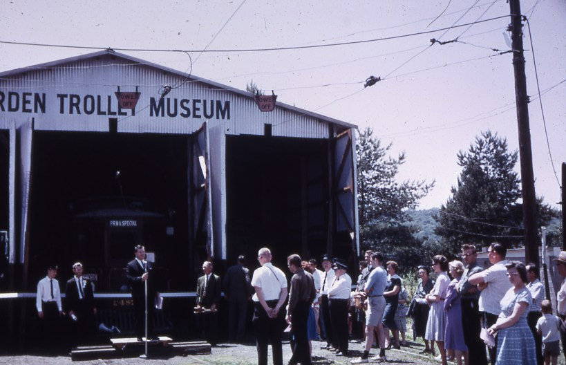 1963 ATM dedication ceremony