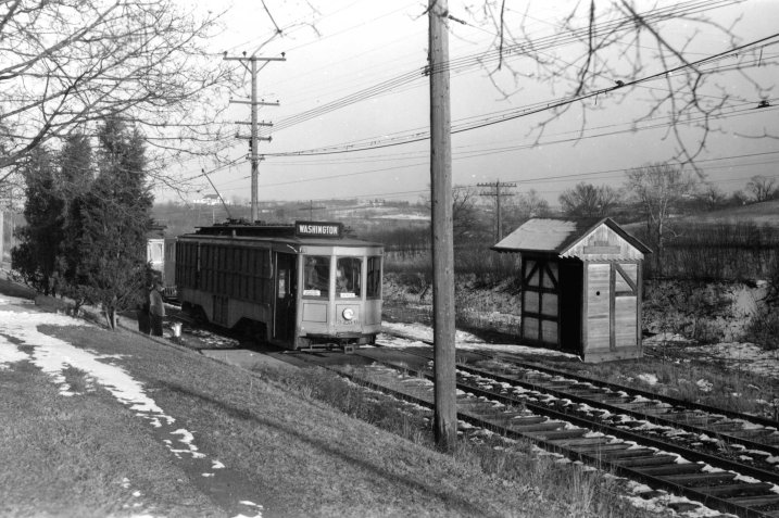 Cars arrive at County Home siding and the project begins. Nine years in the making to the public opening in June 1963.