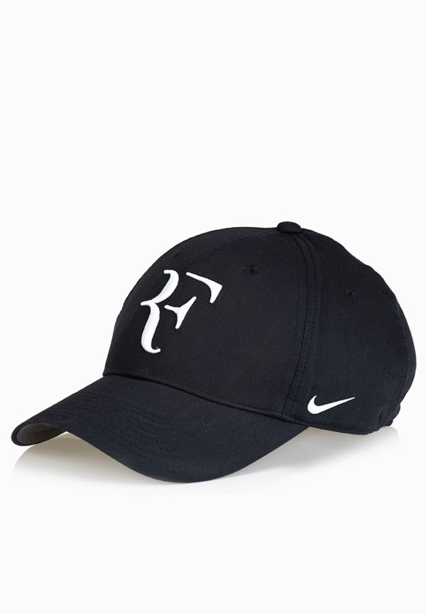 Nike Black Roger Federer Cap 371202-010 Men In