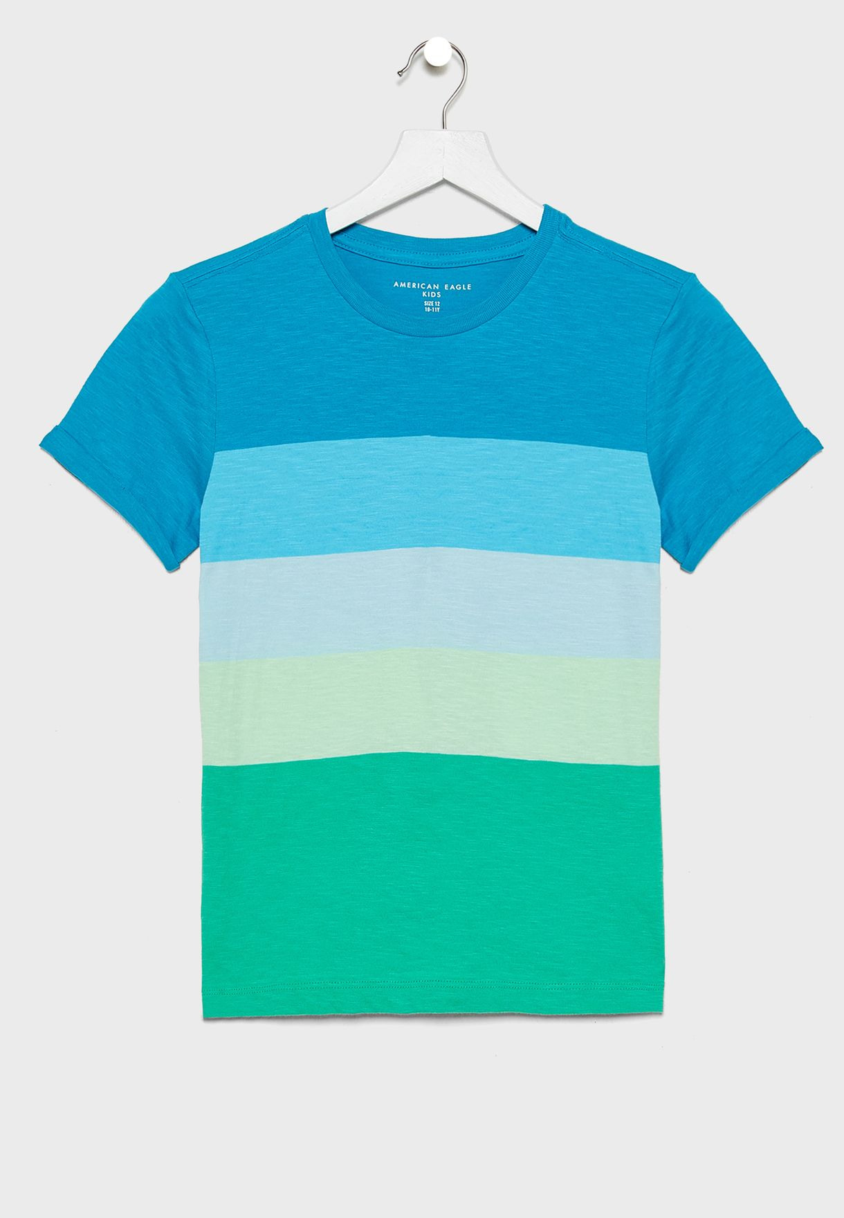Buy American Eagle Multicolor Kids Color Striped T Shirt For Kids In Mena Worldwide U 0280 6908 300