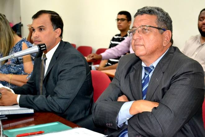 Vereadores Marconi Daniel e Marcondes Francisco são os favoritos na disputa pela presidência da Câmara de Paulo Afonso (Foto: Ivone Lima - www.ozildoalves.com.br)