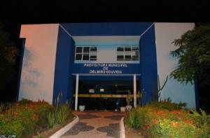 Sede da Prefeitura de Delmiro Gouveia - AL (Crédito: Divulgação)