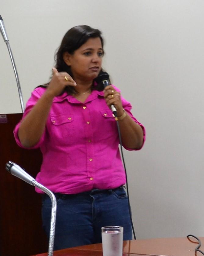 Patrícia Alcântara - Secretária Municipal de Palnejamento (Foto: Ivone Lima/PA4.COM.BR)