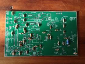23cm transceiver circuit board