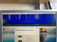 WSPR-RX 1 drifting on first run
