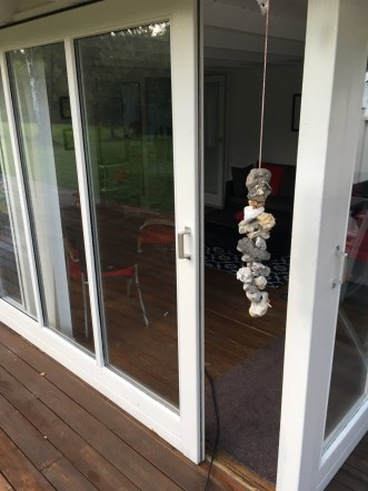 Sliding doors to the garden room