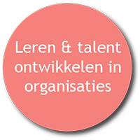 Talentontwikkelingbutton roze rood