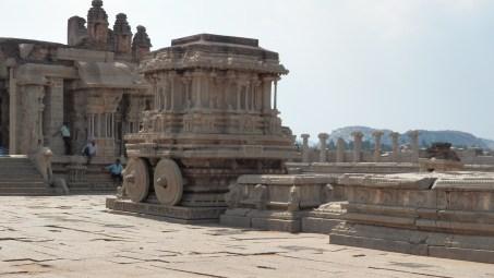 Stone chariot, Hampi
