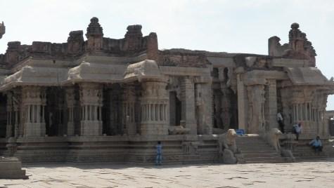 Nritya mandapa of Vijaya Vitthala Mandira, Hampi
