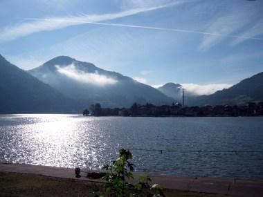 Morgen an der Drina