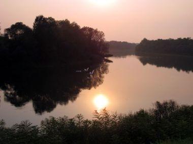 Abend im Lonskoe Naturpark