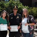 Burlington Police Department's AmeriCorps Team Honored at P.A.A.R.I Ceremony