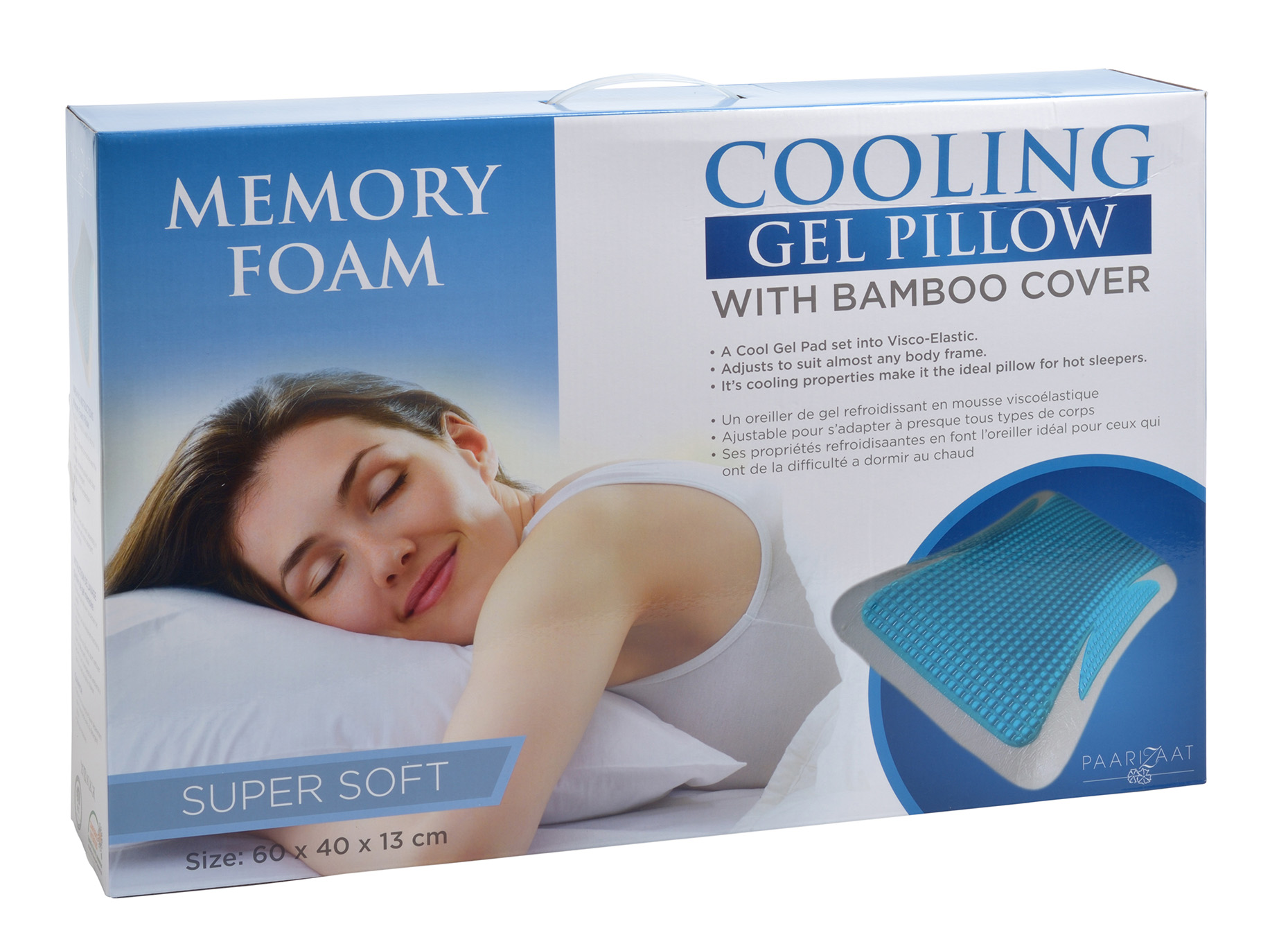 lux cooling gel pillow paarizaat