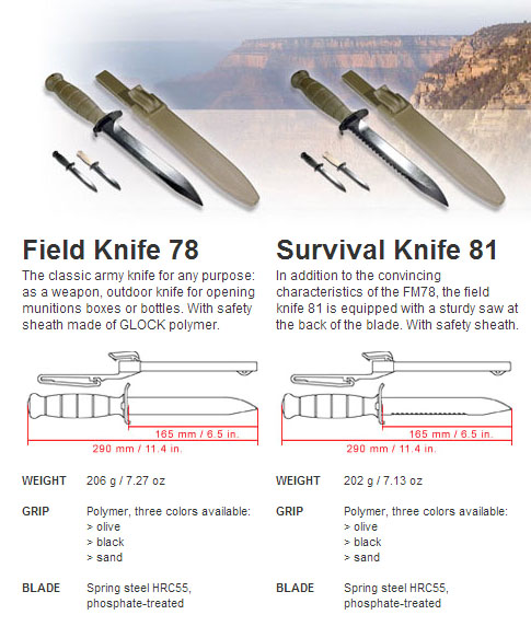 survival knife 81