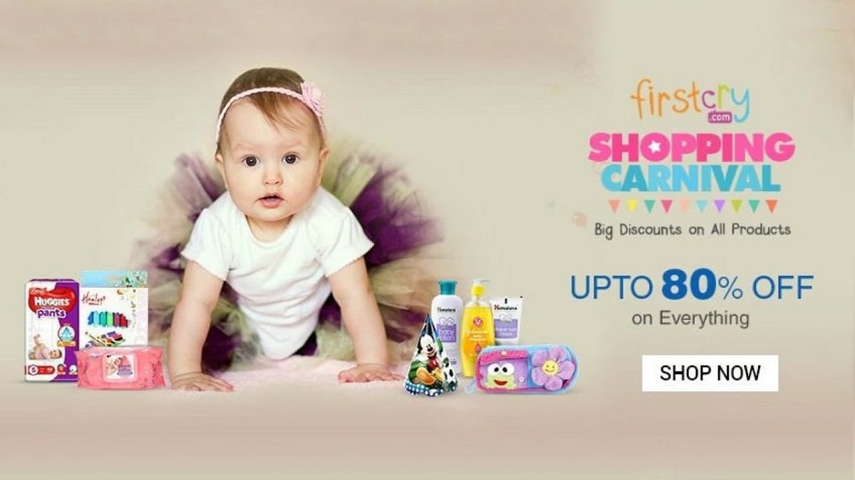 Shop and Save with FirstCry
